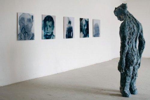 Erich Turroni, <i>Gli occhi che vivono di carezze non sanno più guardare</i>, 2008