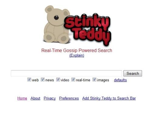 stinky teddy